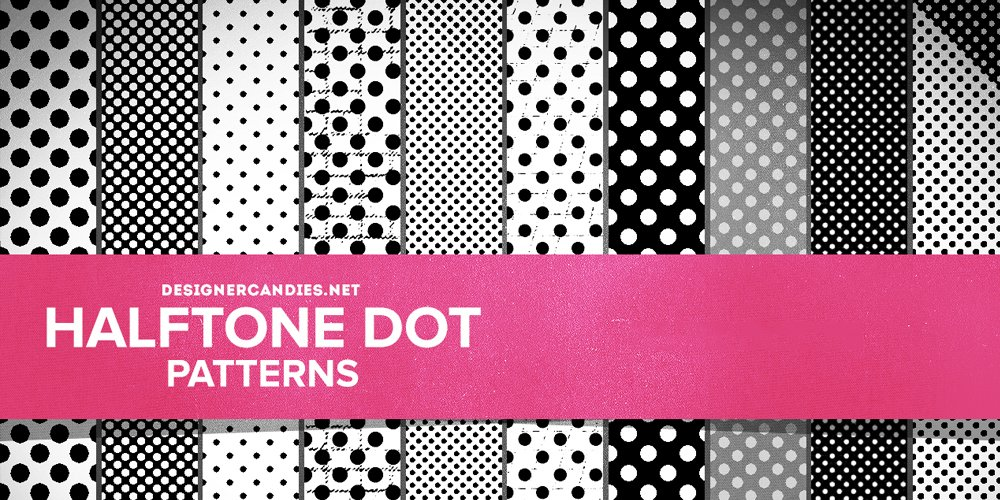 Free Halftone Dot Patterns