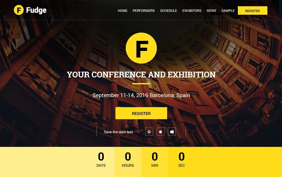 Fudge Lite Responsive WordPress Theme
