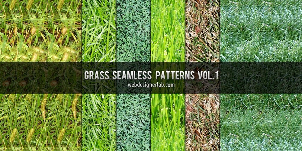 Grass Seamless Patterns