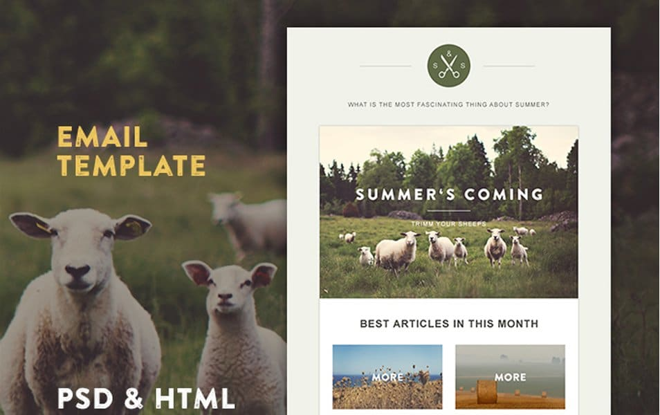 Green Village HTML Template