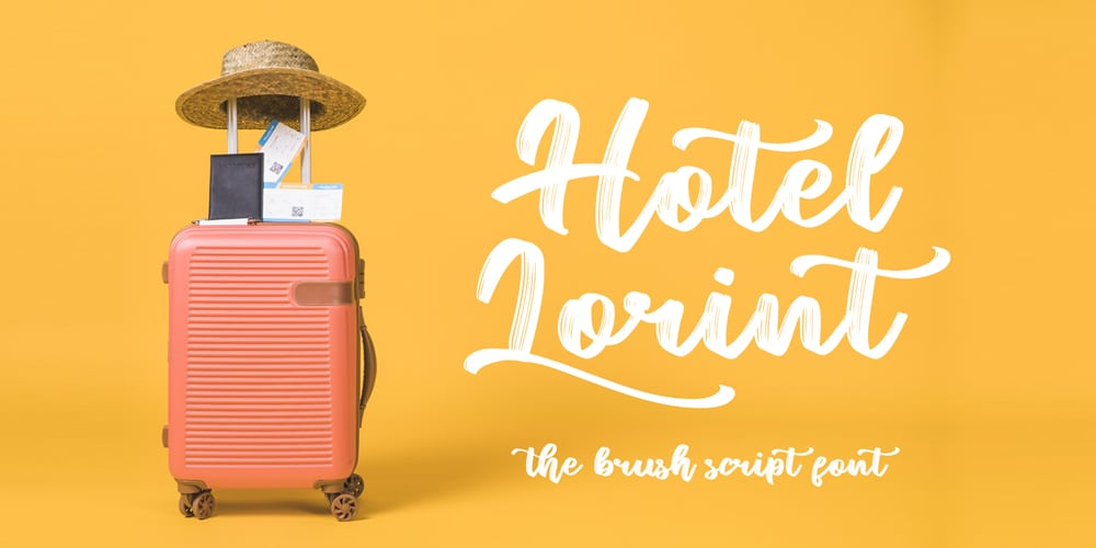 Hotel Lorint Brush Script
