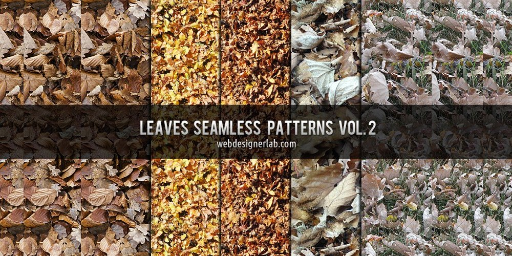 Leaves Seamless Patterns