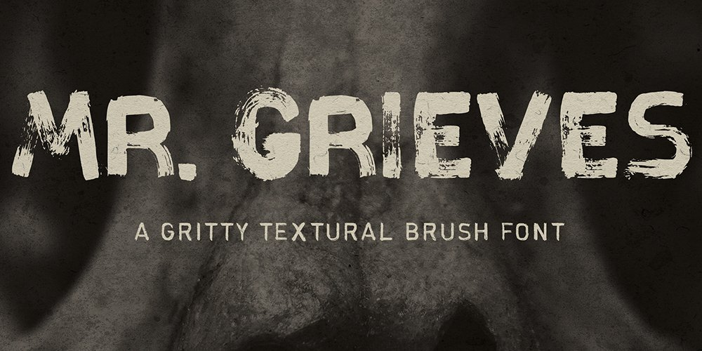 MR Grieves Typeface