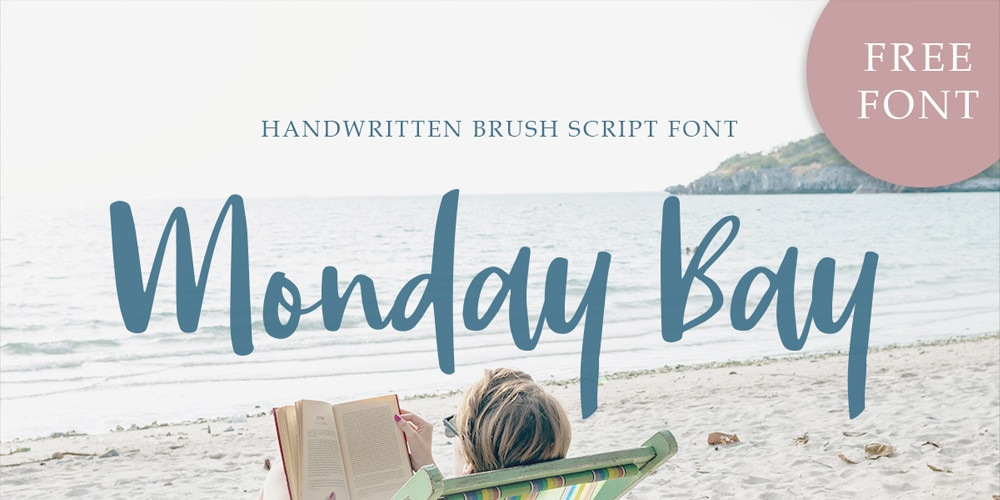 Monday Bay Brush Script