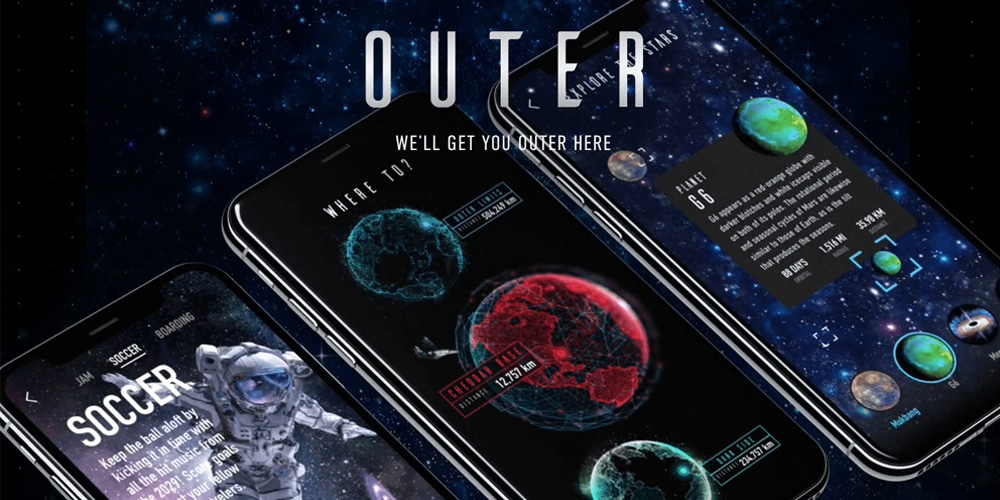 Outer Space App