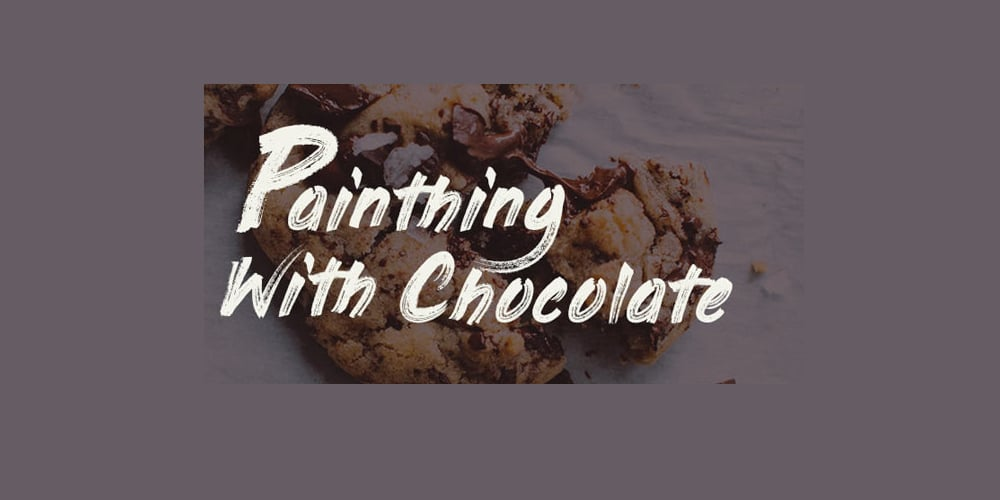 Painting With Chocolate