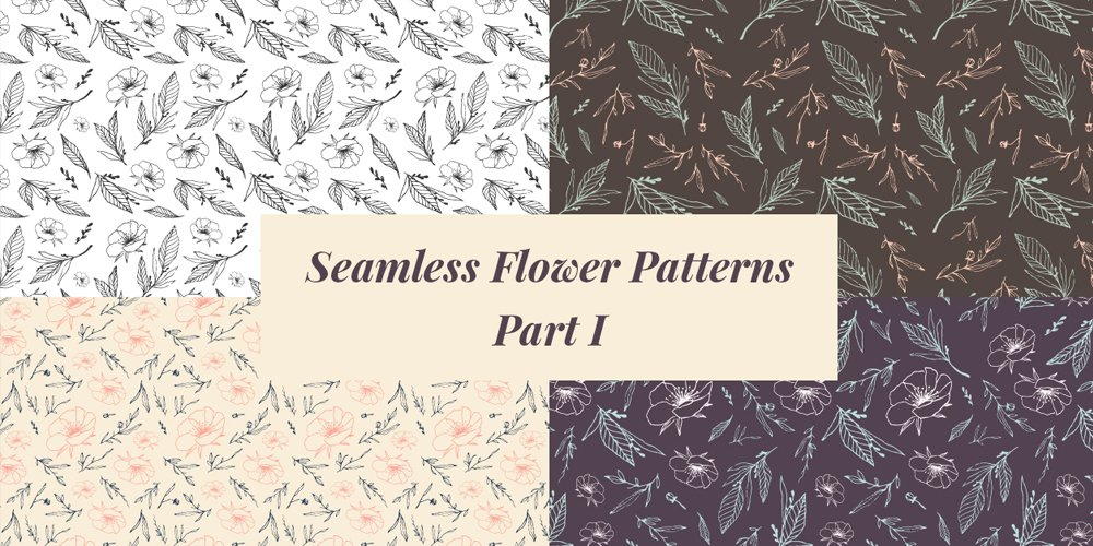 Seamless-Flower-Patterns