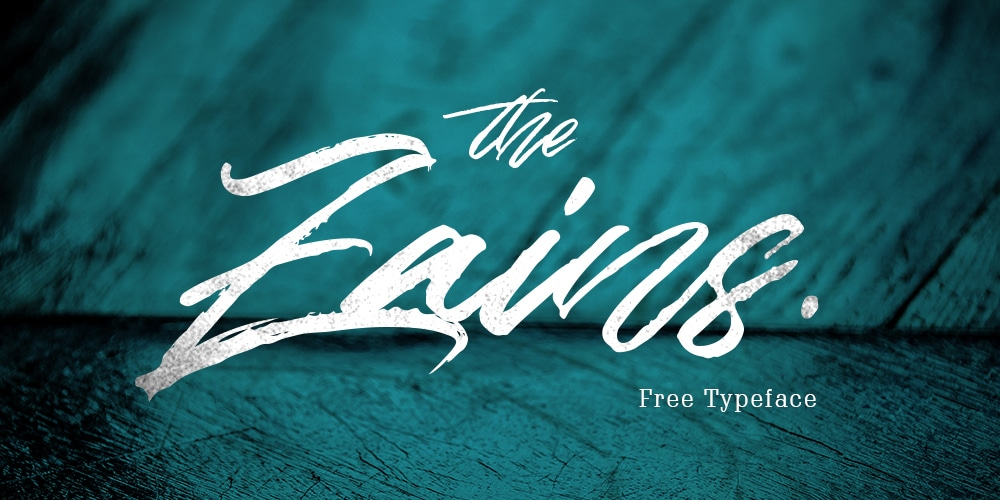 The Zains Typeface