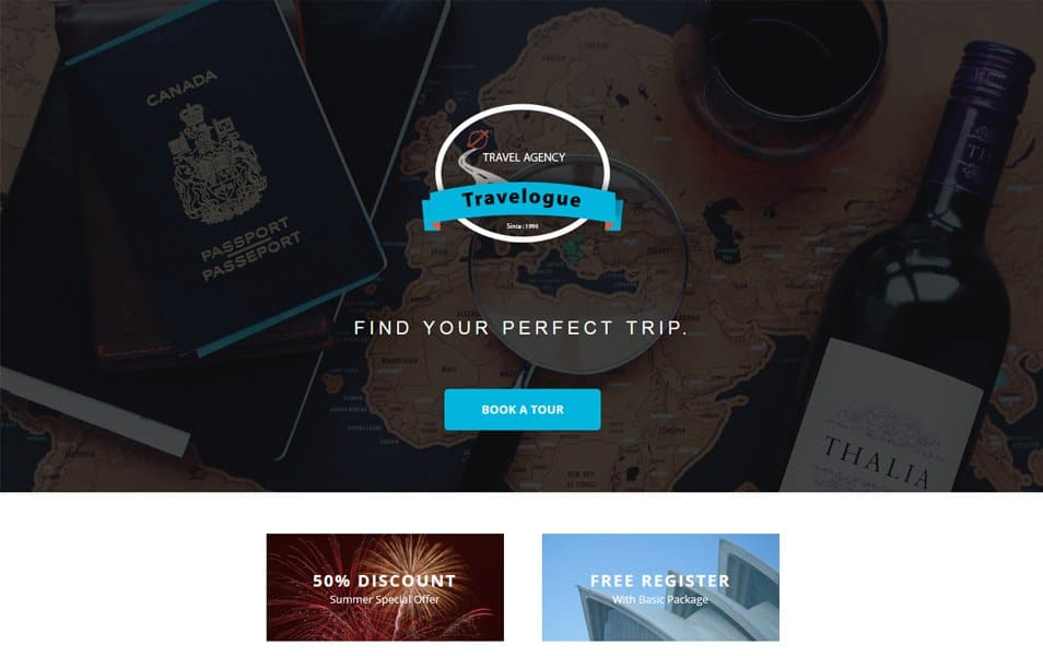 Travelogue a Newsletter Responsive Email Template