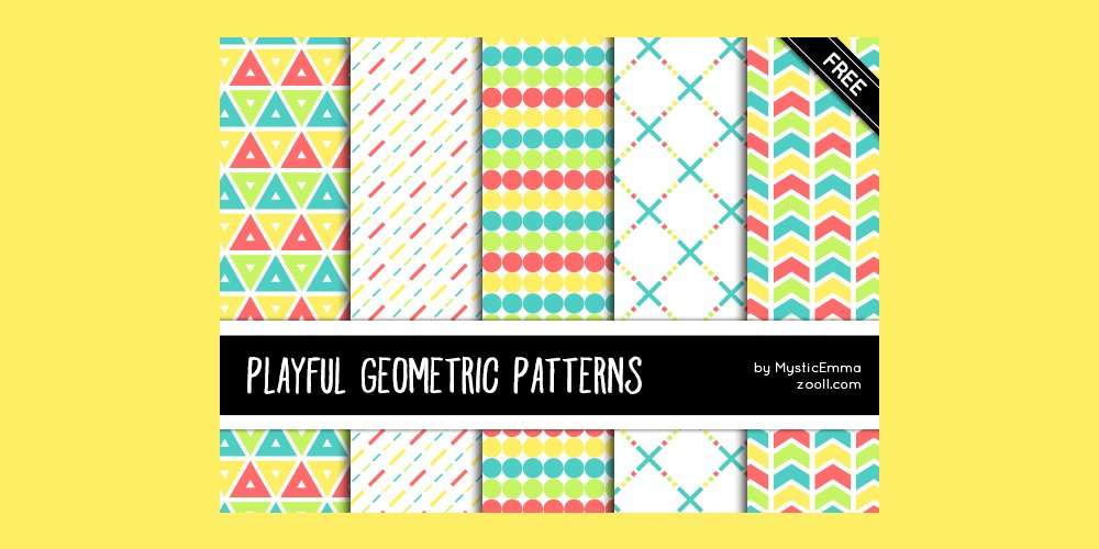 Playful Geometric Patterns