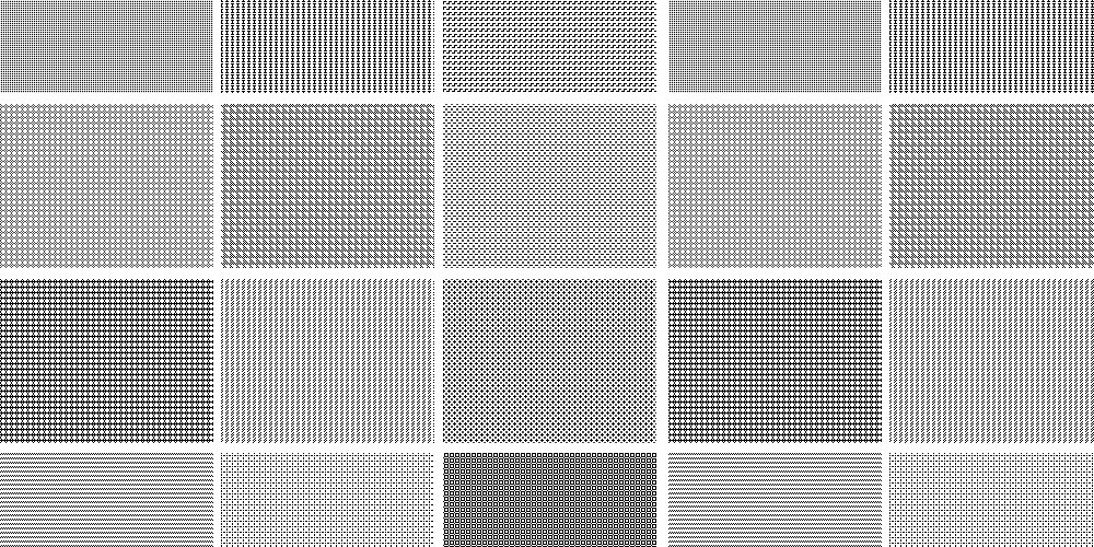 Seamless Pixel Patterns