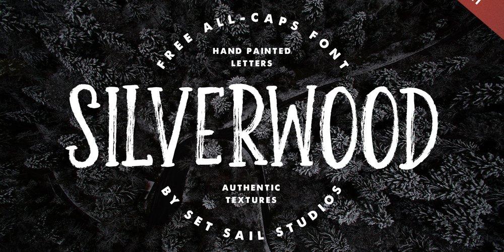 Silverwood فونت
