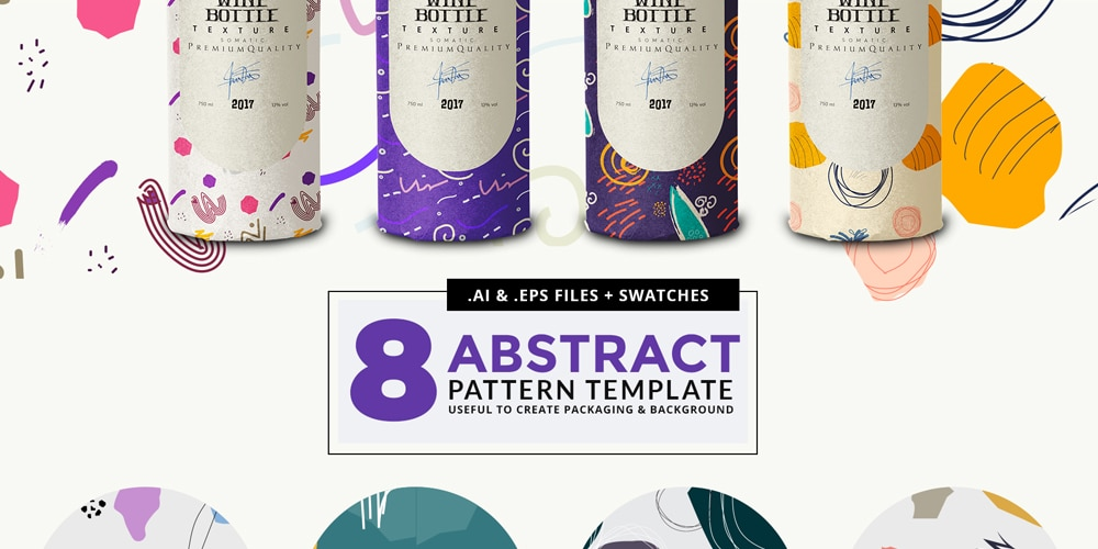 Abstract Pattern Vector Template