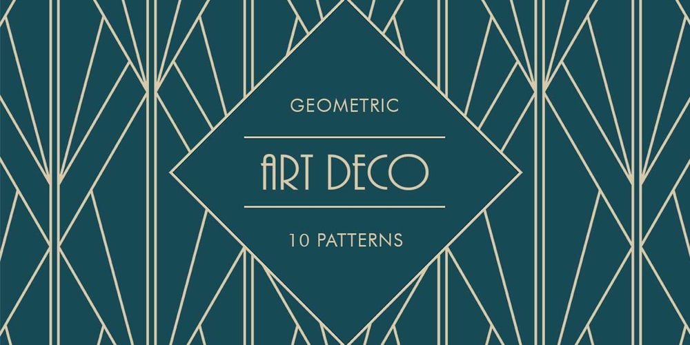 Art-Deco-Geometric-Patterns