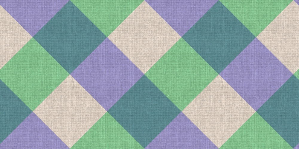 Diagonal Checker Seamless Pattern on Cloth