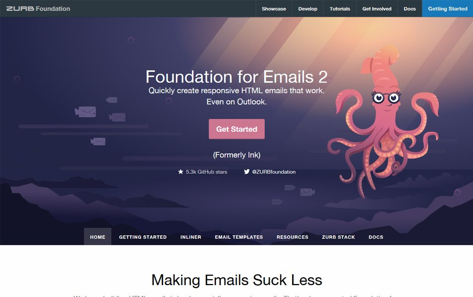 Foundation for Emails