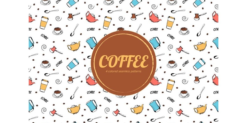 Free Coffee Pattern