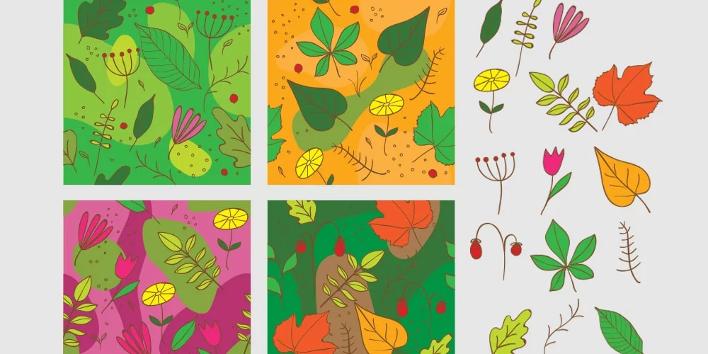 Free Floral Vector Patterns