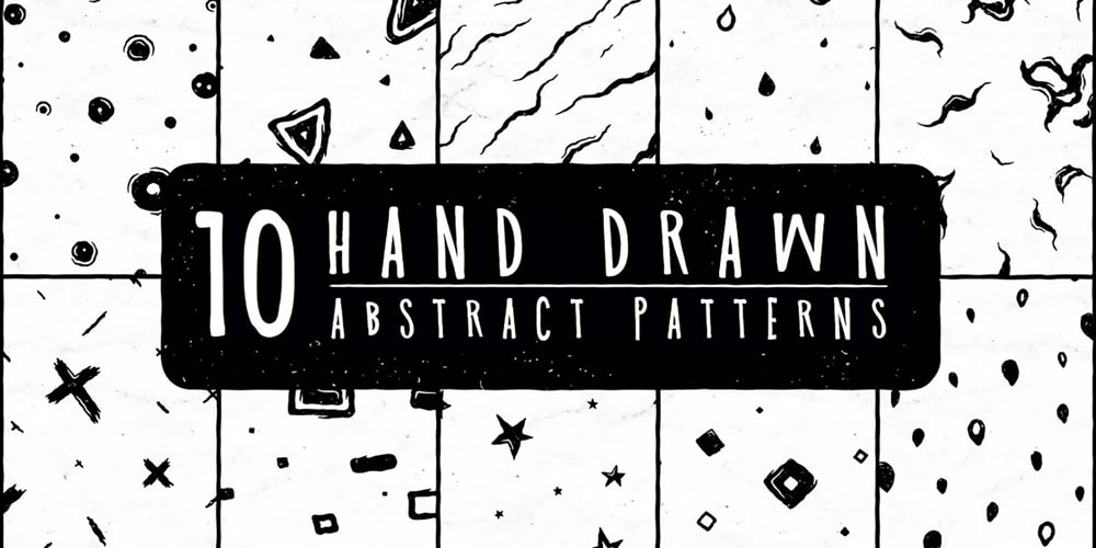 Free Hand Drawn Abstract Patterns