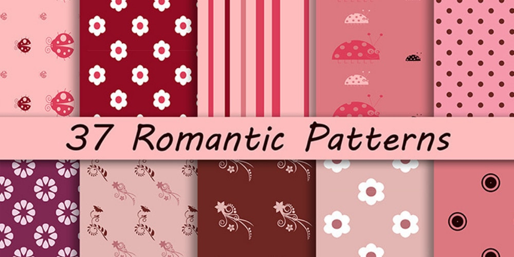 Free Romantic Patterns