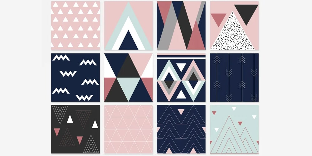 Free Traingle Patterns