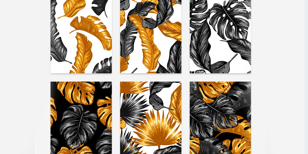Free Tropical Vector Patterns
