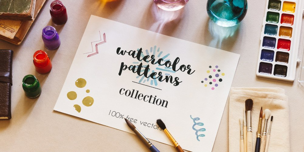 Free-Watercolor-Patterns