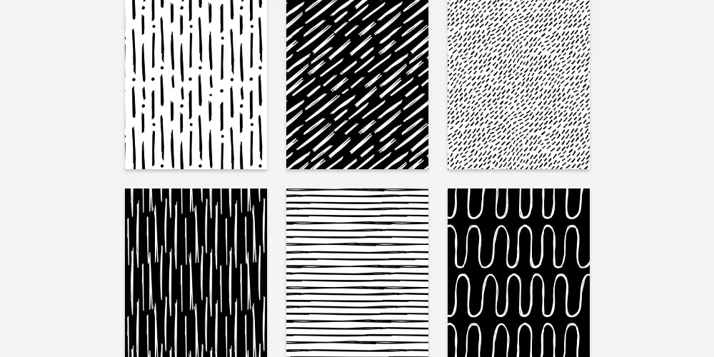 Hand Drawn Lines Patterns