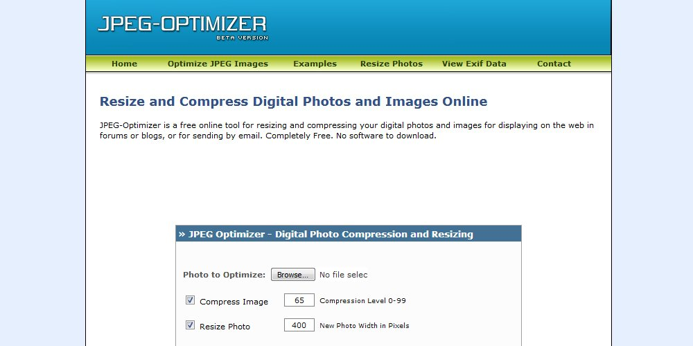 JPEG Optimizer