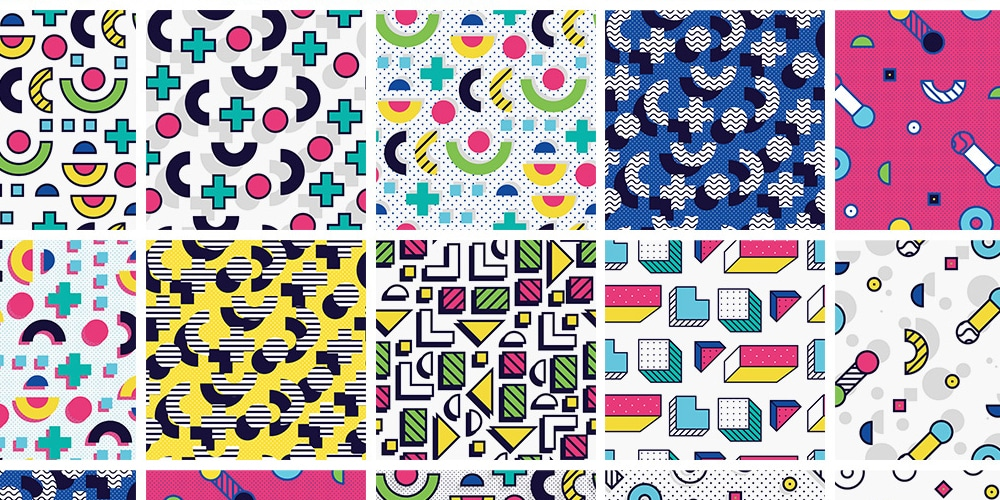 Memphis Patterns