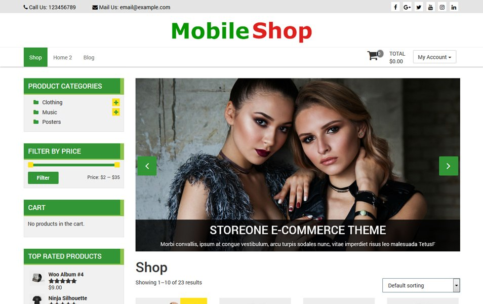 فروشگاه موبایل