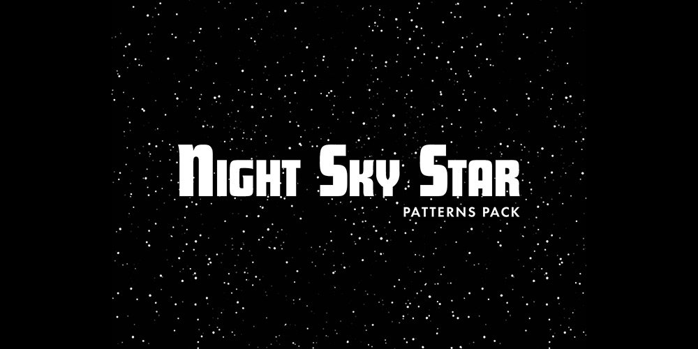 Night Sky Star Patterns
