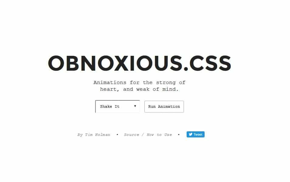 Obnoxious.CSS
