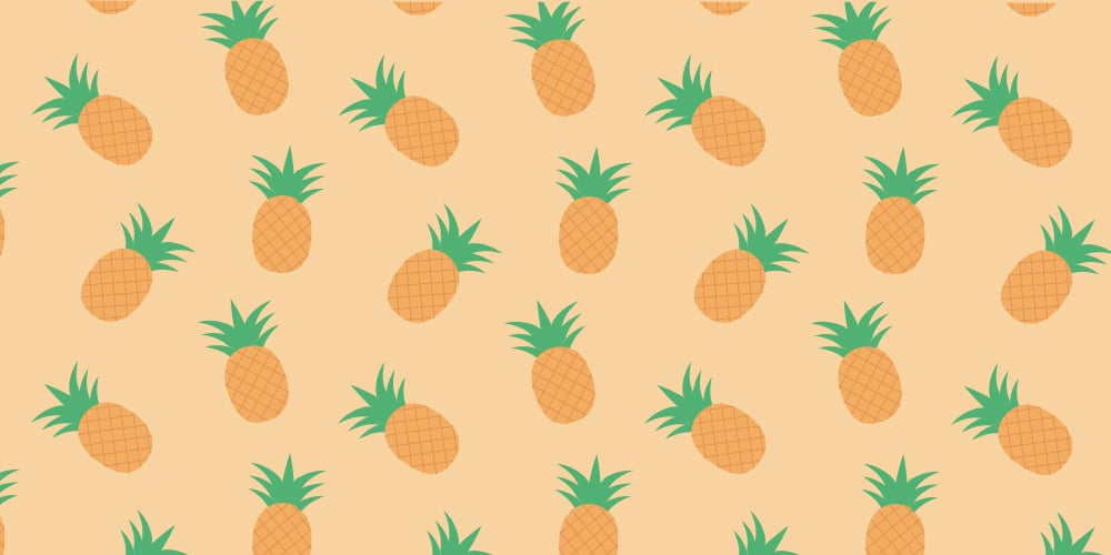 Pineappleg Pattern Vector