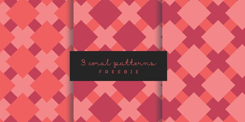 Seamless Coral patterns