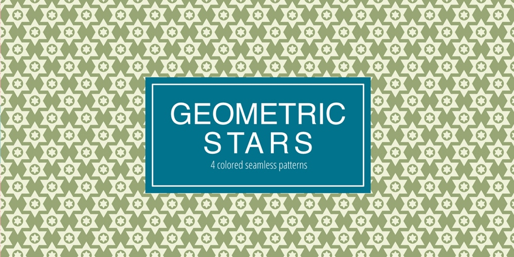Seamless Geometric Stars Pattern