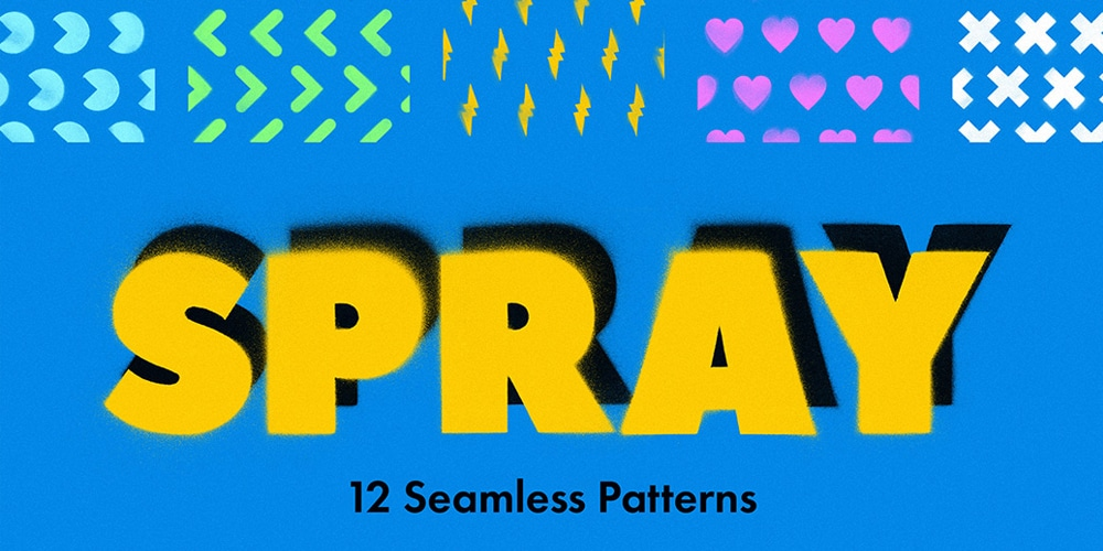 Spary-Seamless-Patterns