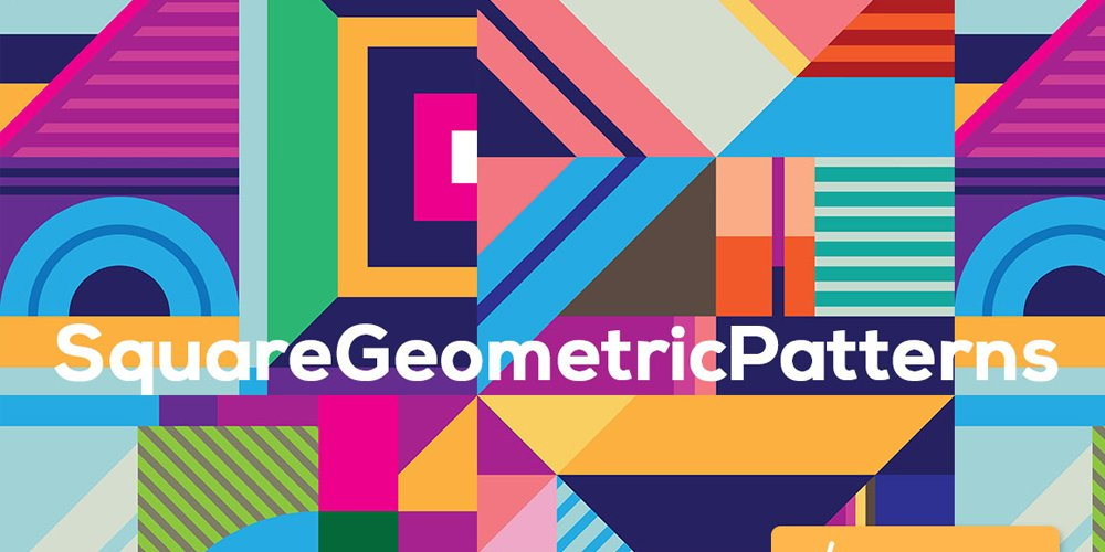 Square Geometric Patterns