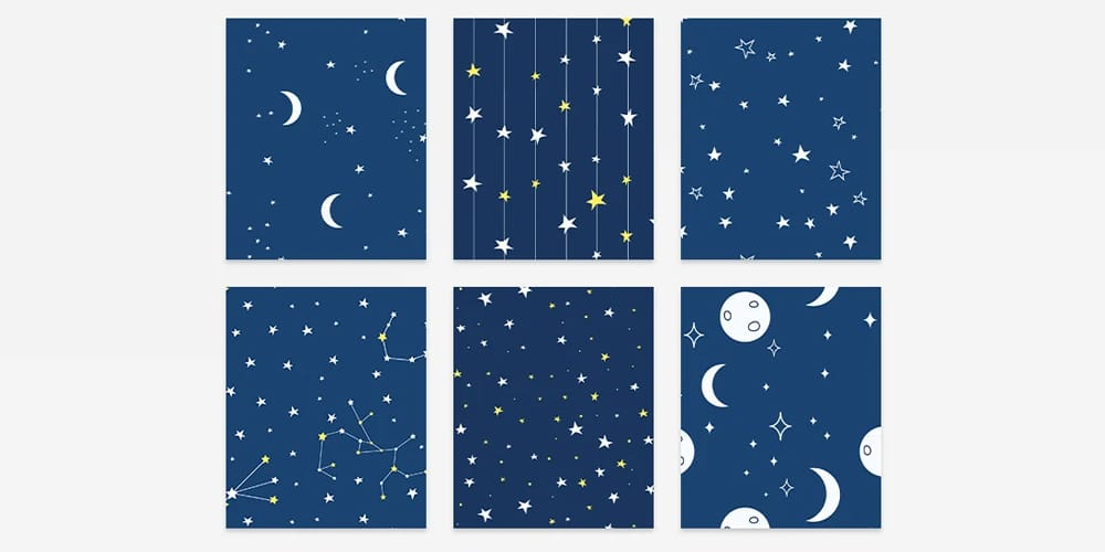 Stars Day Patterns