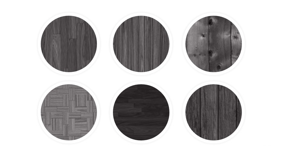 Tileable Dark Wood Texture Patterns