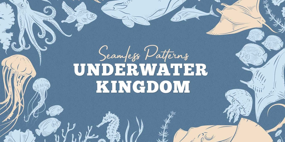 Underwater Kingdom Patterns