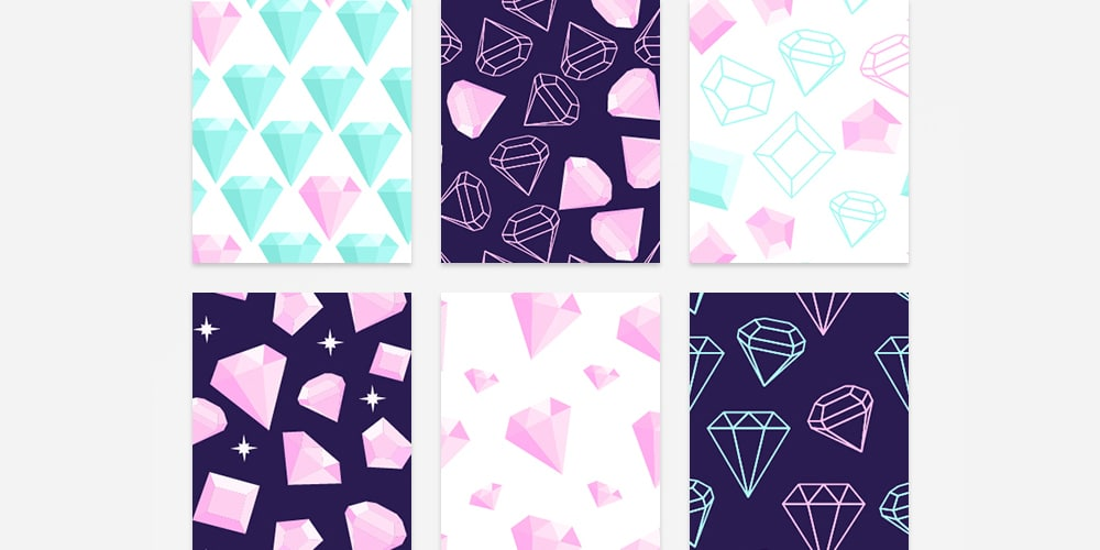 diamond patterns