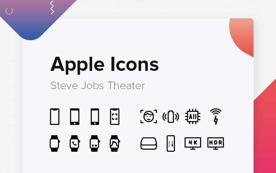 Free apple icons