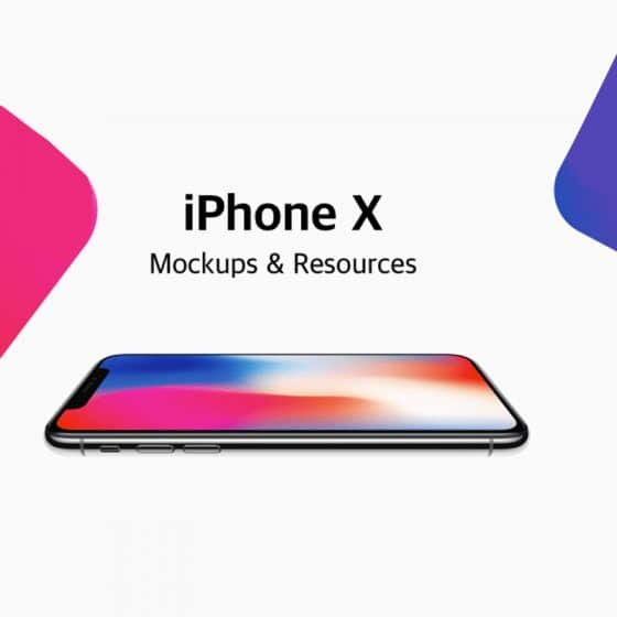 Free iPhone X Mockup Templates and Resources