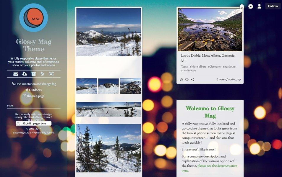 50+ Best Free Responsive Tumblr Themes 2019 » CSS Author