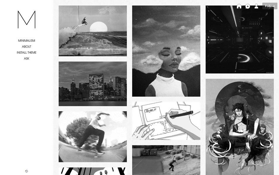 50 Best Free Responsive Tumblr Themes 2019 Css Author