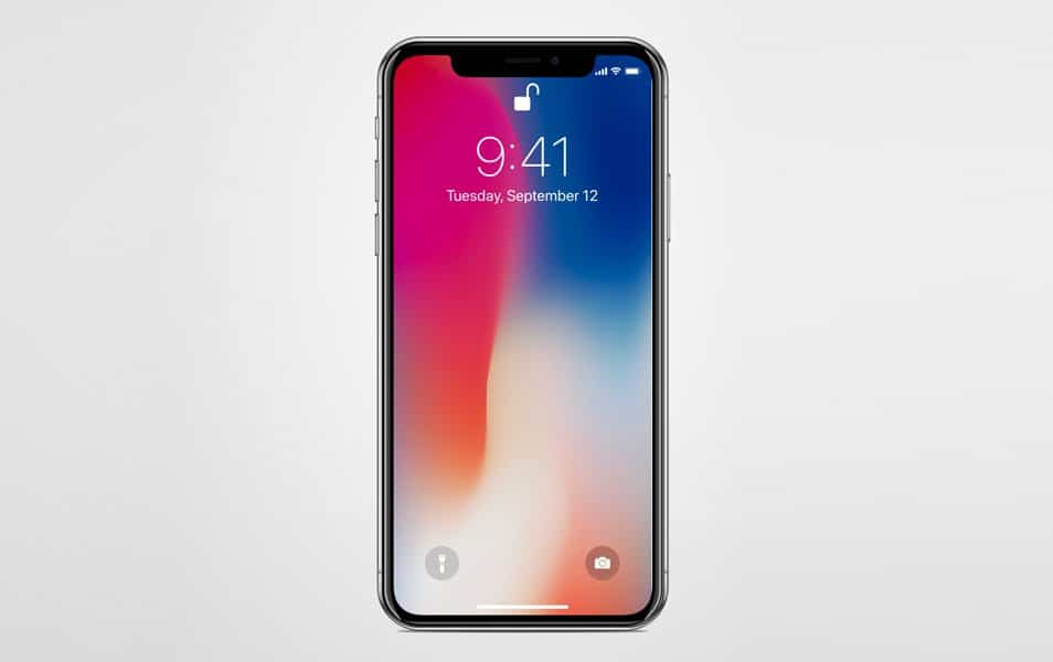 Vector iPhone X