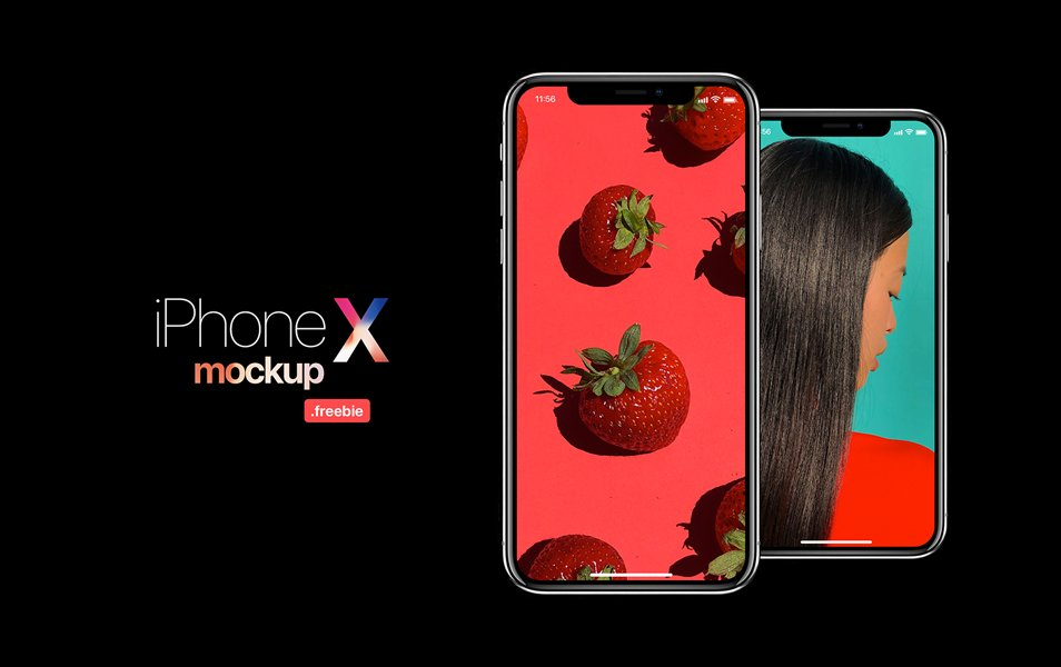 iPhone X Mockup Templates & Resources