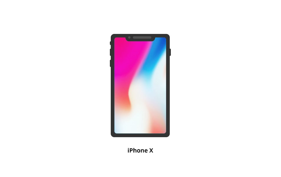 iPhone X Vector Icon