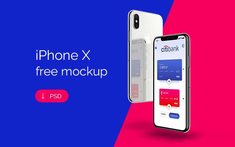 150+ Free IPhone X Mockup Templates & Resources » CSS Author